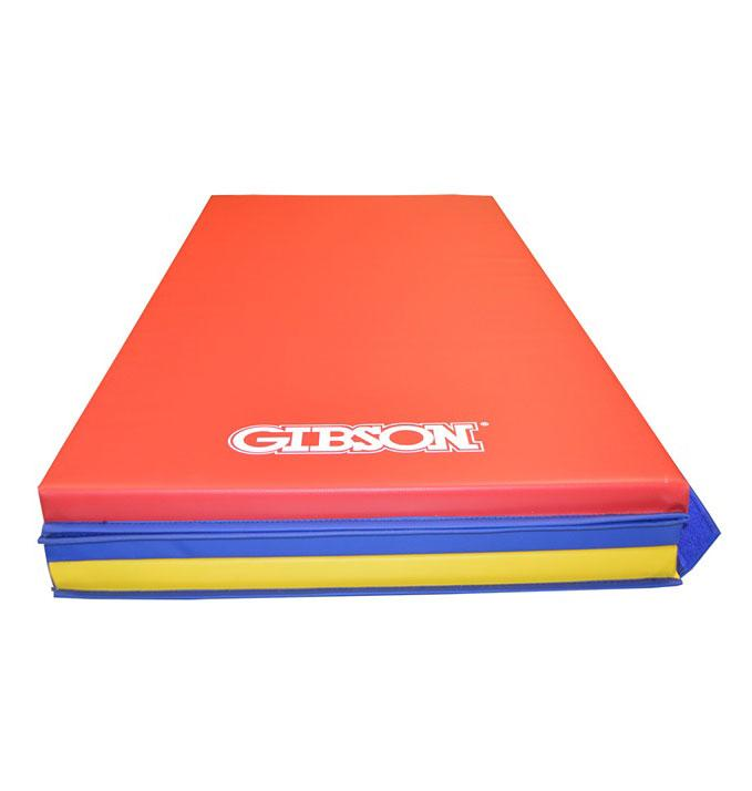 Gibson Tri-Color Tumbling Mats - Gibson Athletic