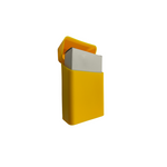 Cigar Cutter 2 Bladed Double Stainless Steel 22mm
