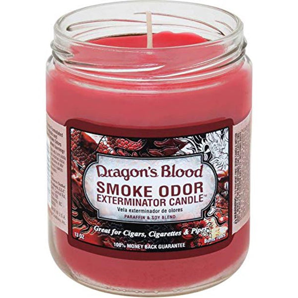Smoke Odor Jar13oz Dragon Blood