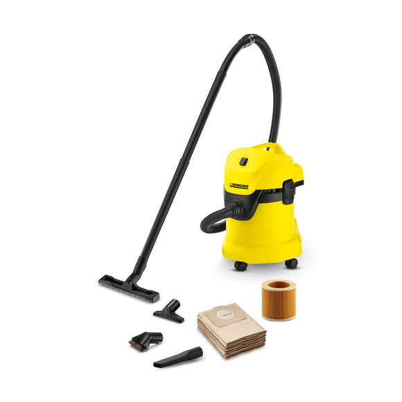 KARCHER WD 3 KAP WET AND DRY VACUUM CLEANER (WITH ACCESSORIES)
