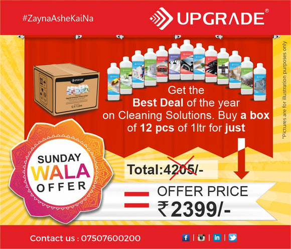 SUNDAY WALA OFFER - UEPL CLEANING SOLUTIONS