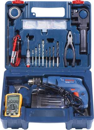 BOSCH GSB 550 IMPACT DRILL (ELECTRICIAN KIT)