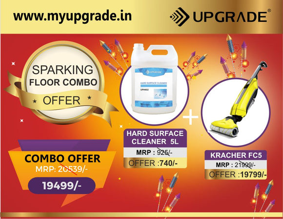 OFFER - SPARKLING FLOOR COMBO