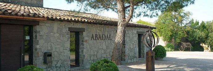 Buildings at Bodegas Abadal in Catalonia, Spain