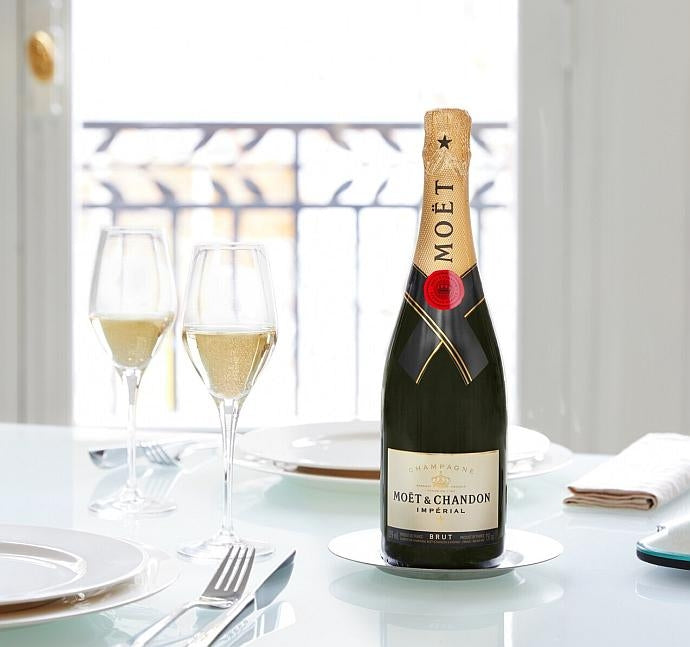 bottle of Moët et Chandon Brut Impérial