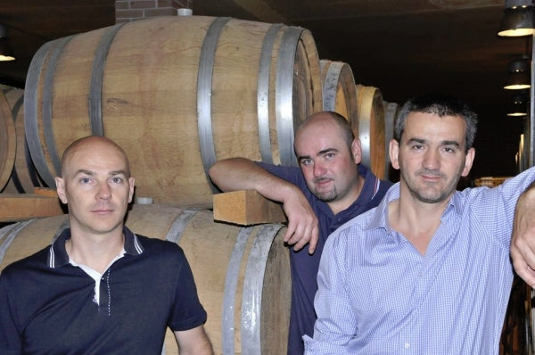 The Tezza cousins at the winery