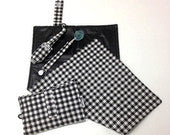 Black and White Gingham Collection