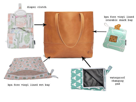 rilos and mimi diaper bag collection