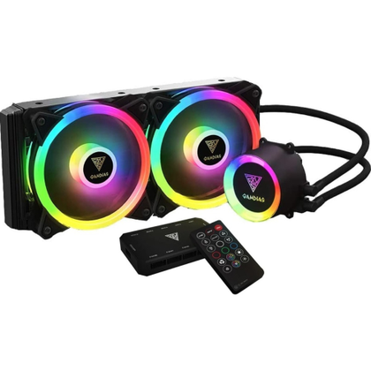 Gamdias Chione M2-240R RGB AIO Liquid CPU Cooler - Vektra PC