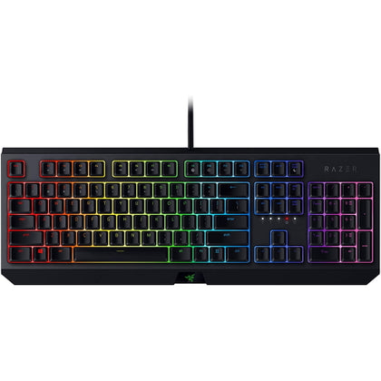 Razer BlackWidow Mechanical Gaming Keyboard (Green) - Vektra PC