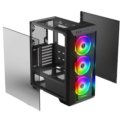 Gamdias Talos M1 Lite Mid Tower RGB PC Case - Vektra PC