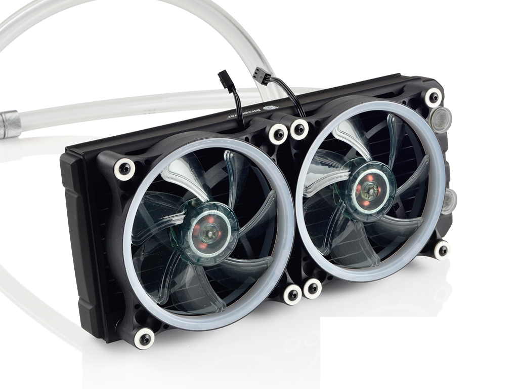 Bitspower Leviathan Slim All In One 240 RGB Liquid Cooling Kit - Vektra PC