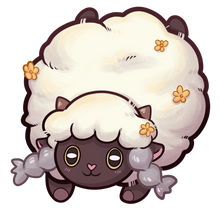 Load image into Gallery viewer, Poké Wooloo | Keychain
