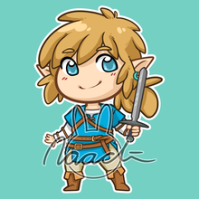 Load image into Gallery viewer, BotW Link | Keychain