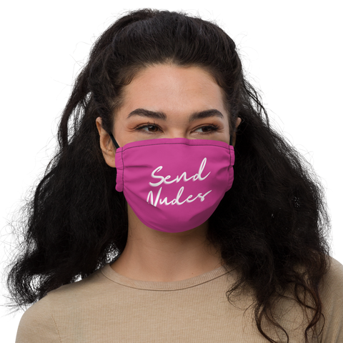Pink/White Send Nudes 2.0 Mask