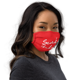 Red/White Send Nudes 2.0 Mask
