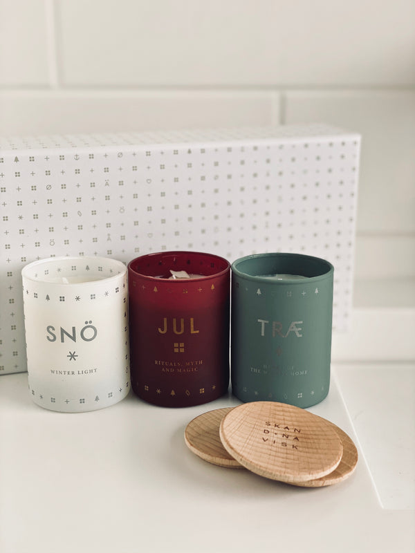 SKANDINAVISK ONSKA candle gift set (FREE WITH SPEND OVER £200)