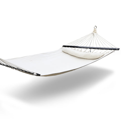 Double hammock outdoor in white