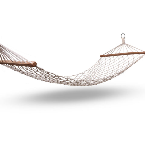 Outdoor rope hammock