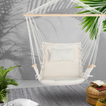 Cream swing chair hammock