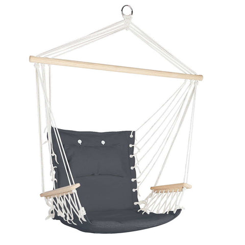 Swing chair hammock in grey - outdoor hammock