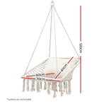cream hammock, swing hammock