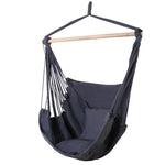 Hammock swing chair in grey
