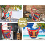 Multicoloured swing hammock australia
