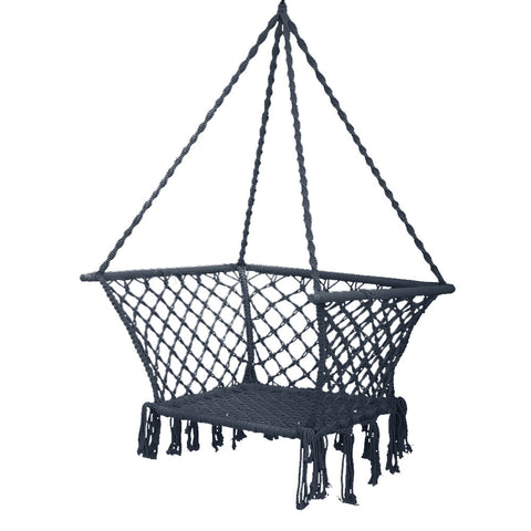 hammock chair in grey