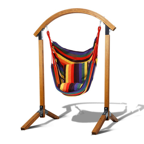 Swing chair with frame hammock