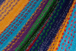 Vibrant oloured hammock australia, Queen sized cotton hammock, hammocks in australia,