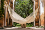 Soft hammocks australia, buy hammocks online, cream two person hammock