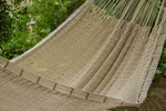 Cream hammock for outdoors, australian outdoor hammock