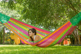 colourful outfoor hammock, two person hammock