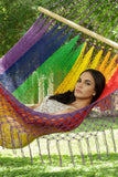 Hammock rainbow coloured Australian hammock