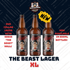 THE BEAST LAGER JUST GOT LARGER!