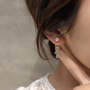 Bear Dangle Earring Jacket