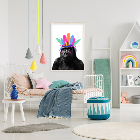 Little Fish Co, unique kids products, on trend and affordable, Kids bedroom décor, kids playroom, childrens décor, Childrens art, fashion and play, Seriously cool, super fun designs that will inspire them to be themselves.
