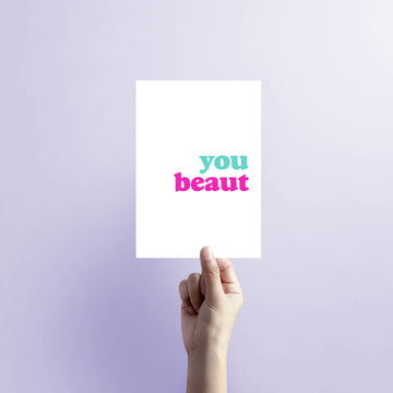 You Beaut Colour Blank Card-Stationary-Little Fish Co.