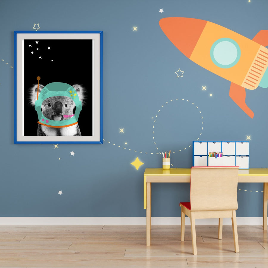 Koala Astroboy-Art-Little Fish Co.