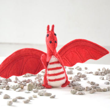 Red Dragon Felt Toy-Fun-Little Fish Co.