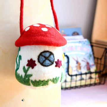 Mushroom Toadstool Bag-Fun-Little Fish Co.