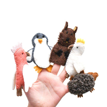 Australian Animal Set B Finger Puppets-Fun-Little Fish Co.