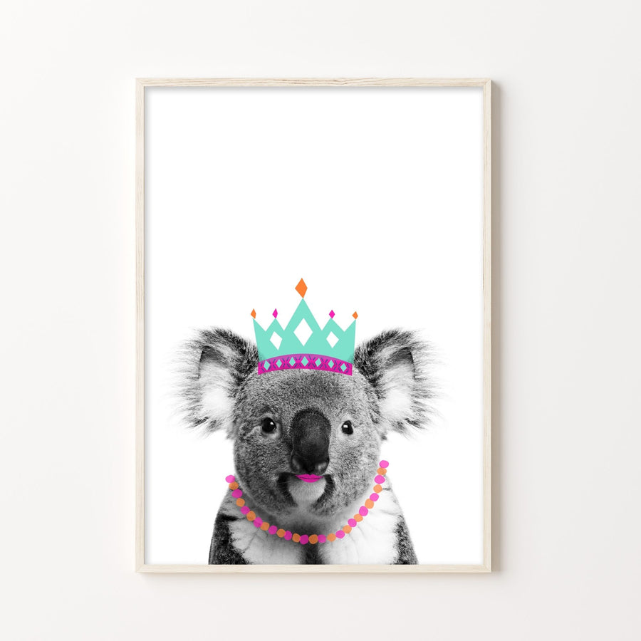 Koala Hot Lips Print-Art-Little Fish Co.