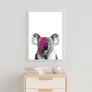 Koala Bowie Print-Art-Little Fish Co.