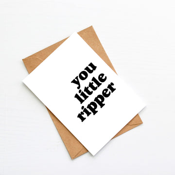 You little Ripper Blank Card-Stationary-Little Fish Co.