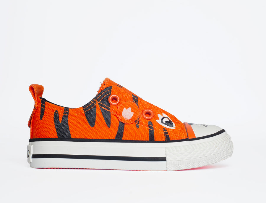 Tiger SLIP Canvas Shoe-Fashion-Little Fish Co.
