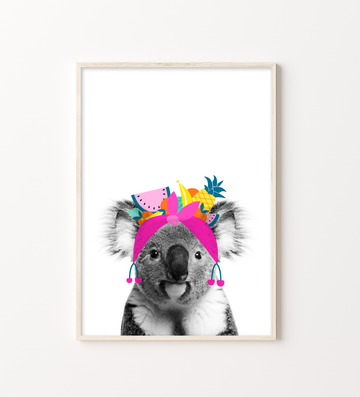 Koala Tutti Fruity-Art-Little Fish Co.