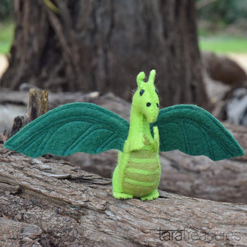 Green Dragon Felt Toy-Fun-Little Fish Co.