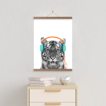 Tiger Beats Print-Art-Little Fish Co.